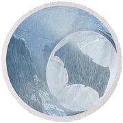 Batman V Superman Dawn Of Justice Round Beach Towel