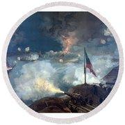 Battle Of Port Hudson Round Beach Towel