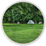 Battlefield Camp 2 Round Beach Towel