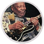 B.b. King II Round Beach Towel