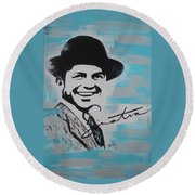 Be Moore Frank Round Beach Towel