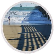 Beach Bliss Round Beach Towel