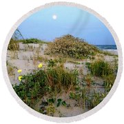 Beach Bouquet Round Beach Towel