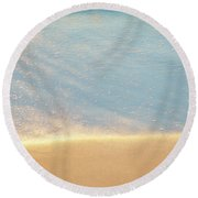 Beach Caress Round Beach Towel