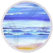 Beach Dawn Round Beach Towel