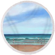 Beach Day Round Beach Towel
