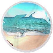 Beach Dream Round Beach Towel