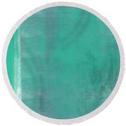 Beach Glass 2 Round Beach Towel