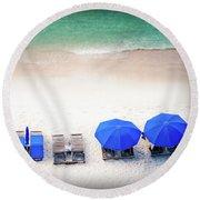 Beach Relax Round Beach Towel