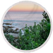 Beach Retreat Round Beach Towel