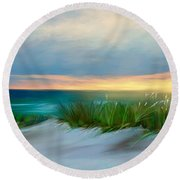 Beach Splender Round Beach Towel