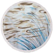 Beach Winds Round Beach Towel