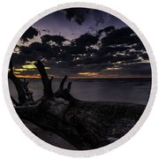 Beach Wood Round Beach Towel