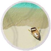 Beached Round Beach Towel