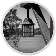Beacon Round Beach Towel by Ester Rogers