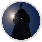 Beacon Of Hope Round Beach Towel