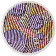 Bead Spumps Round Beach Towel