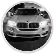 Beamer Round Beach Towel