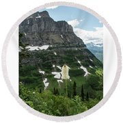 Bear Grass Round Beach Towel