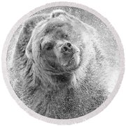 Bear Spin Round Beach Towel