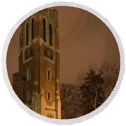 Beaumont Tower Round Beach Towel