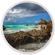 Beautiful Bermuda Round Beach Towel