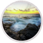 Beautiful Ending Round Beach Towel