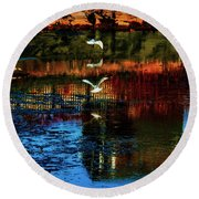 Beautiful II Round Beach Towel