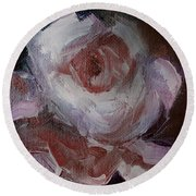 Beautiful Rose Beautiful Story Round Beach Towel