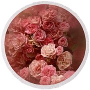 Round Beach Towel featuring the photograph Beautiful Roses 2016 by Richard Cummings