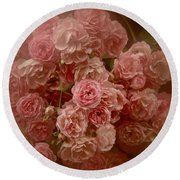 Round Beach Towel featuring the photograph Beautiful Roses 2016 No. 3 by Richard Cummings