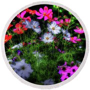 Round Beach Towel featuring the photograph Beauty II by Tom Prendergast
