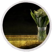 Beauty Of The Valley Round Beach Towel