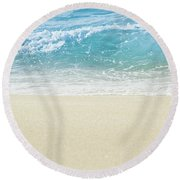Round Beach Towel featuring the photograph Beauty Surrounds Us by Sharon Mau