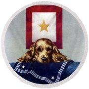 Because Somebody Talked - Ww2 Round Beach Towel