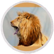 Bed Head - Lion Round Beach Towel