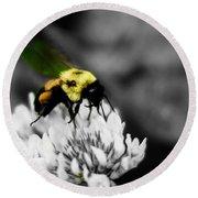 Bee Bee Round Beach Towel