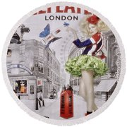 Beefeater Gin Round Beach Towel