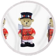 Beefeaters Round Beach Towel
