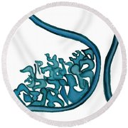 Beit Nest Round Beach Towel