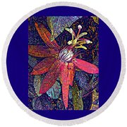 Bejeweled Passion Round Beach Towel