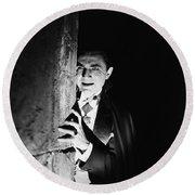 Bela Lugosi Dracula Round Beach Towel