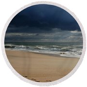 Believe - Jersey Shore Round Beach Towel
