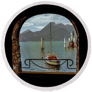 Bella Varenna - For Print Or Wrapped Canvas Round Beach Towel