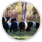 Belties Round Beach Towel
