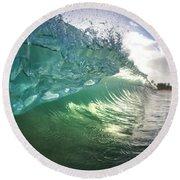 Beneath The Curl Round Beach Towel