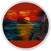 Benidorm Round Beach Towel by Jeepee Aero