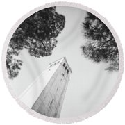 Berkeley Campanile Round Beach Towel