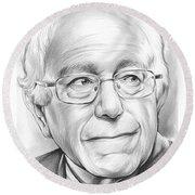 Bernie Sanders Round Beach Towel