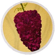 Berry Good Round Beach Towel by Rand Swift